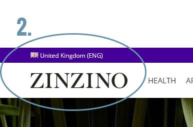 2# Check Zinzino shipping country